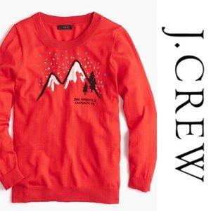J. Crew Merino Tippie Sweater in Chamonix M